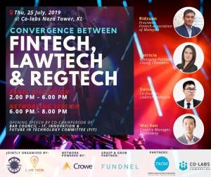 Convergence Between Fintech, Lawtech & Regtech (Malaysian Bar Council, FAOM & LawTech Malaysia)