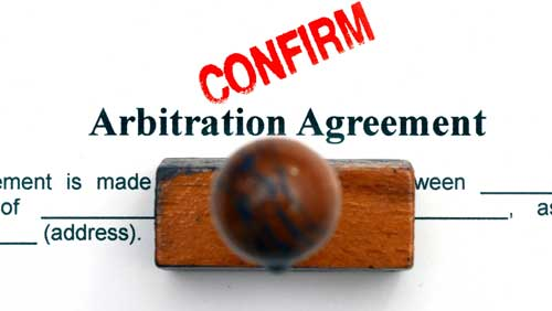 arbitration-agreement-confirmed